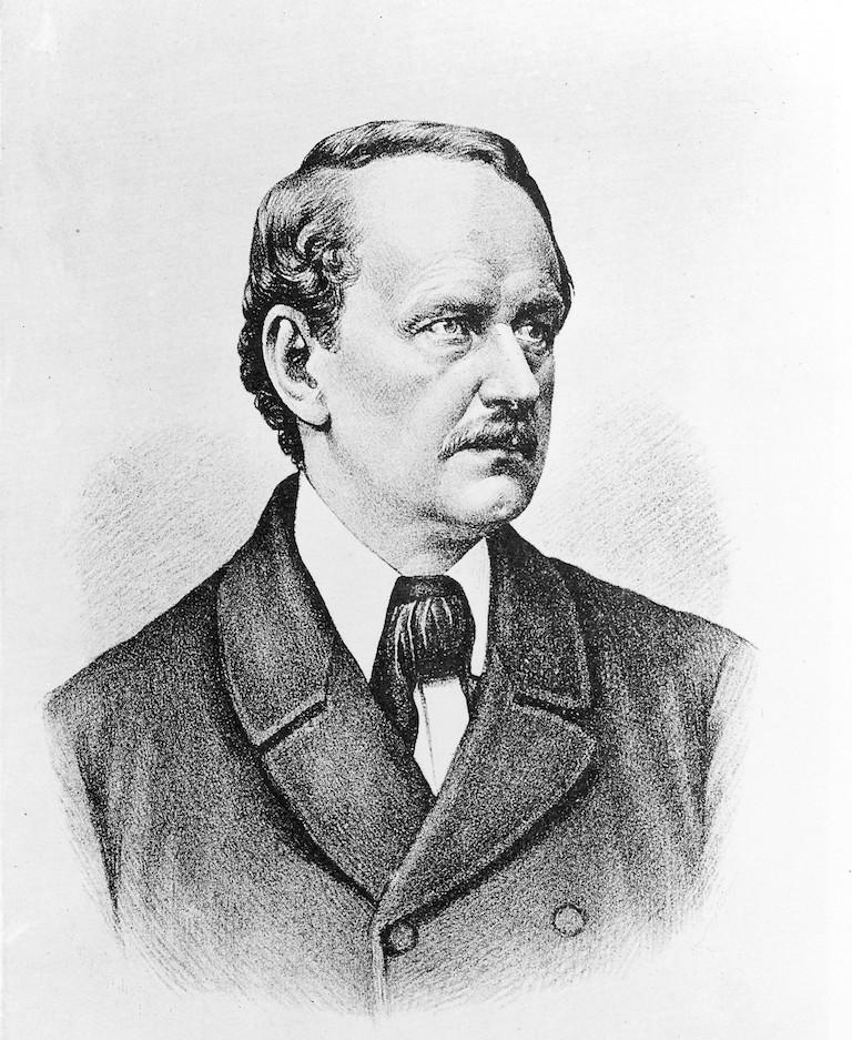 M0016612 Portrait of Matthias Jacob Schleiden