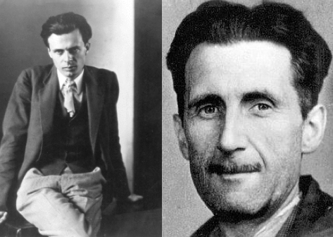 Orwell and Huxley .001