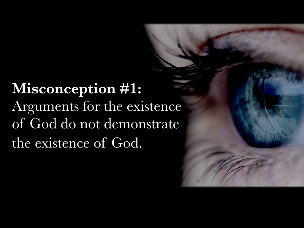 Doug Potter's: Miconceptions of Arguments for The Existence of God.001