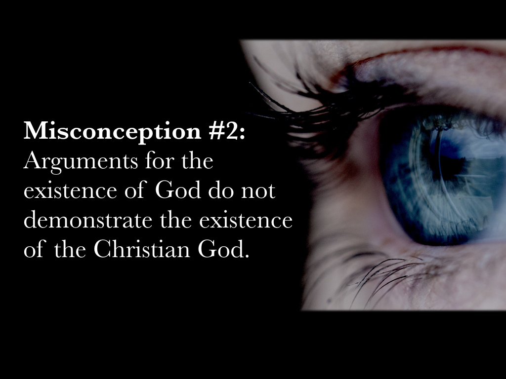 Doug Potter's: Miconceptions of Arguments for The Existence of God.002