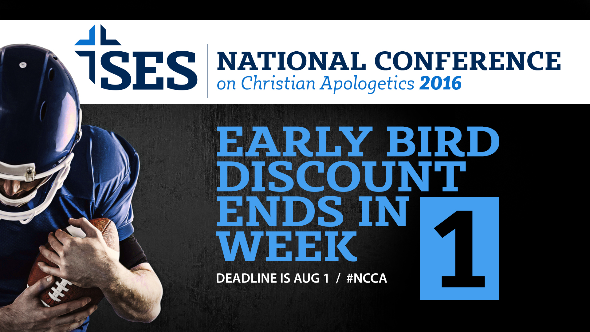 NCCA 1 week early bird